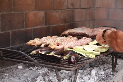 Asado in wine country, mendoza, argentina